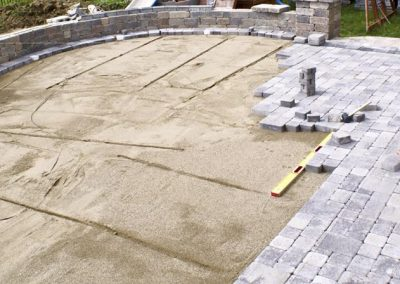 Gilroy-Another patio in progress