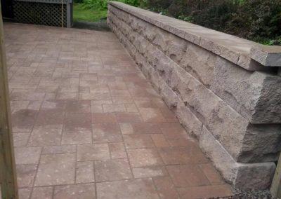 Gilroy-Patio with wall