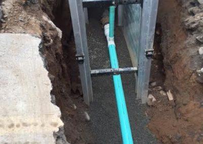 Website-excavation