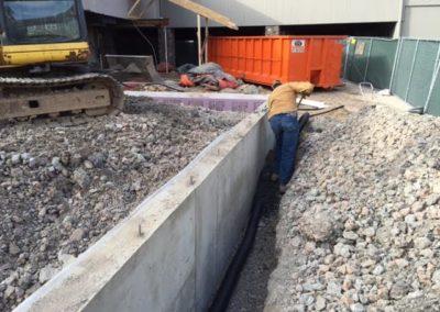 website excavation